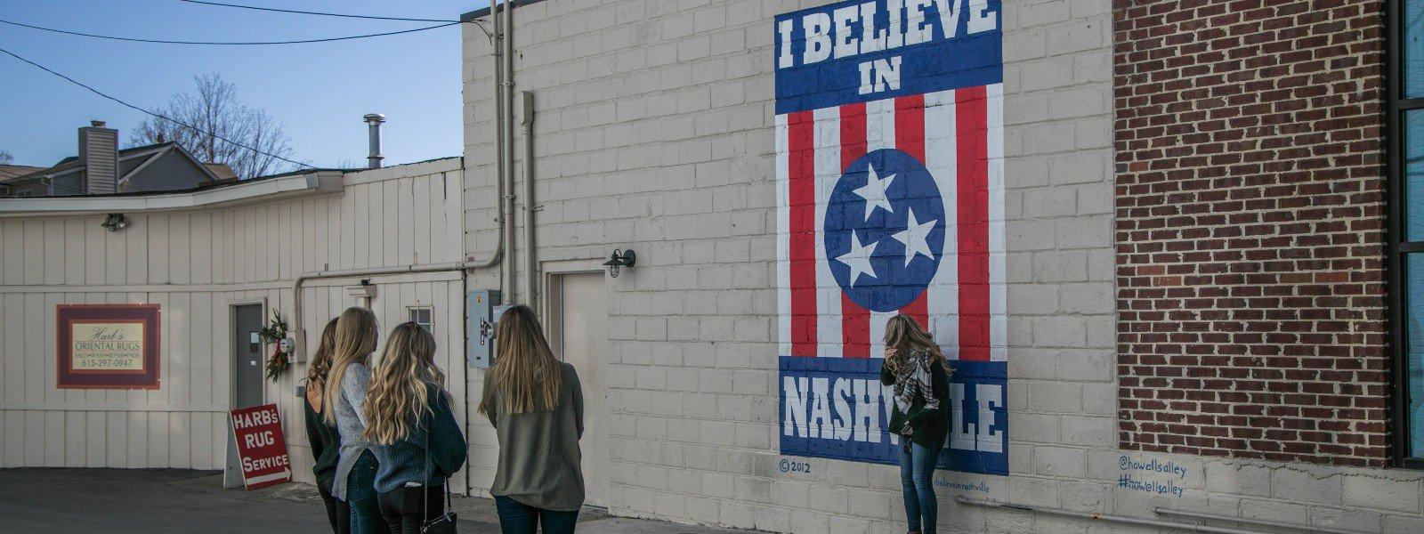 I believe in Nashville