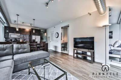 Env Chicago 1 Bedroom Plus Den 11 Pinnacle Furnished Suites